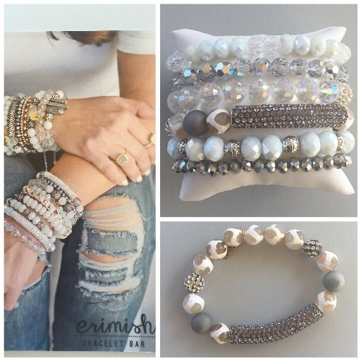 Make one special photo charms for you, 100% compatible with your Pandora bracelets.  Erimish stack bracelet
