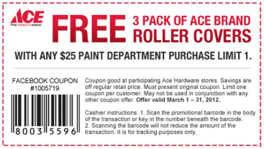 graphic relating to Ace Hardware Printable Coupon named Ace components coupon codes printable 2018 / Khaugalideals hyderabad