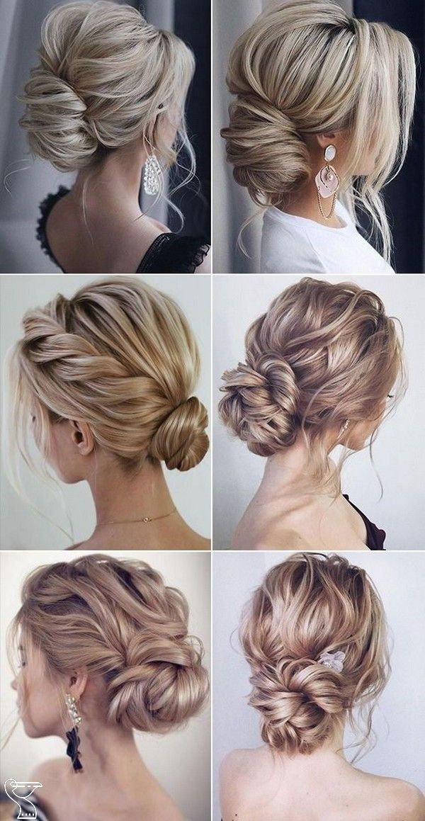 100+ Long Wedding Hairstyle Ideas You'll Love Fancy trying your hand at doing your own wedding hair? Or perhaps you're on the hunt for ideas to show your stylist... Whatever your preference, we've got 53 simple wedding hairstyles to inspire you. #weddinghairstyleideas