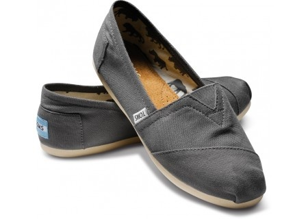 TOMS canvas classics in ash -- if you judge favorite by usage these would be my absolute favorite... these and my raybans