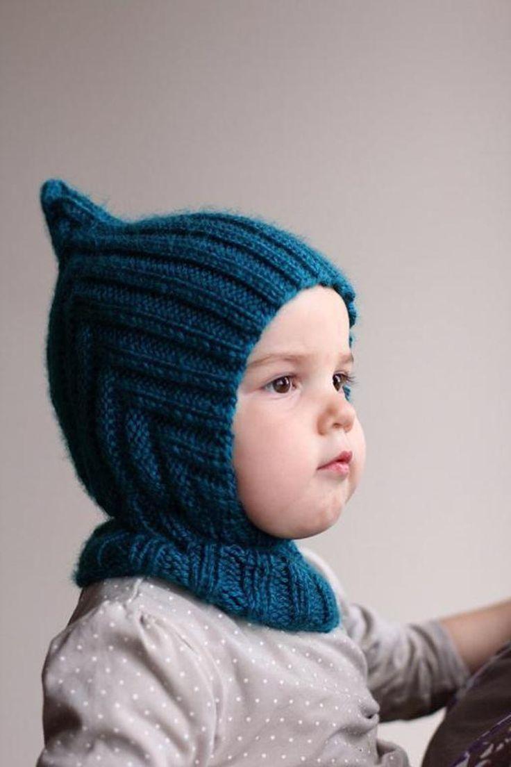 Knit Balaclava - Pixie Hooded Scarf | Craftsy