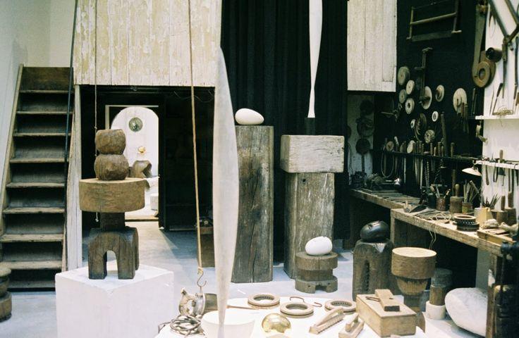 Constantin Brancusi's studio.