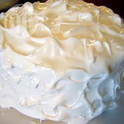 Luchtige meringue glazuur @ allrecipes.nl