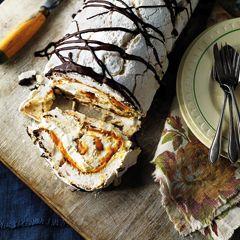 Banoffee meringue roulade - Sainsbury's Magazine