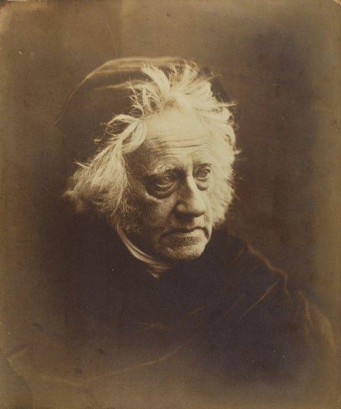 Julia Margaret Cameron (1815-1879) Sir John Herschel with Cap, April 1867, Julia Margaret Cameron (National Media Museum, Bradford)
