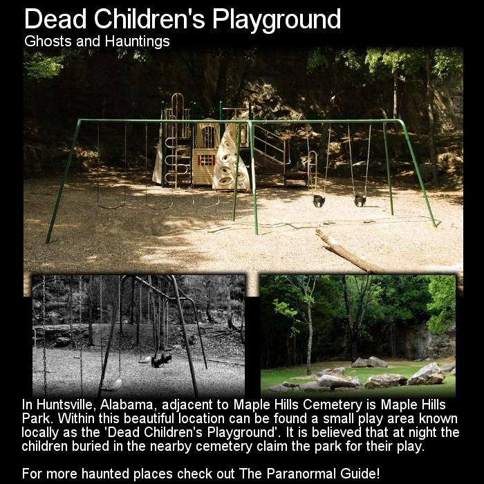 "Theparanormalguide: "" Dead Children's Playground"