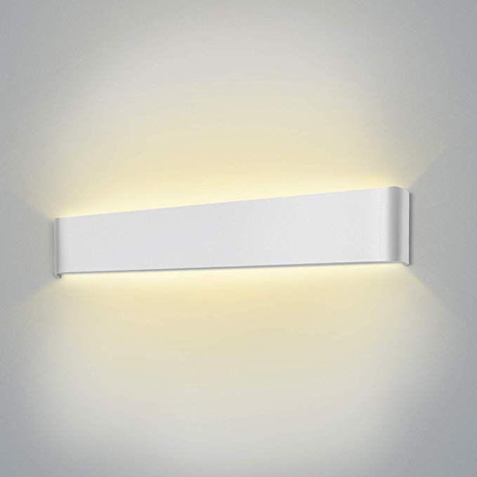 2 X LED Esterno Lampada Muro Casa Lampada Esterno Parete Lampada Up Down Lampada muro esterno