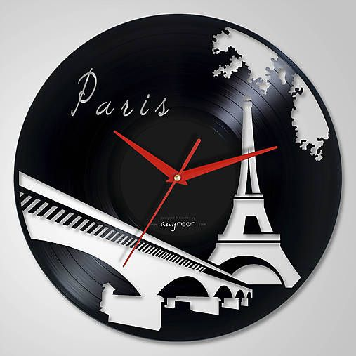 anynOOn / Paris - LP vinyl clocks