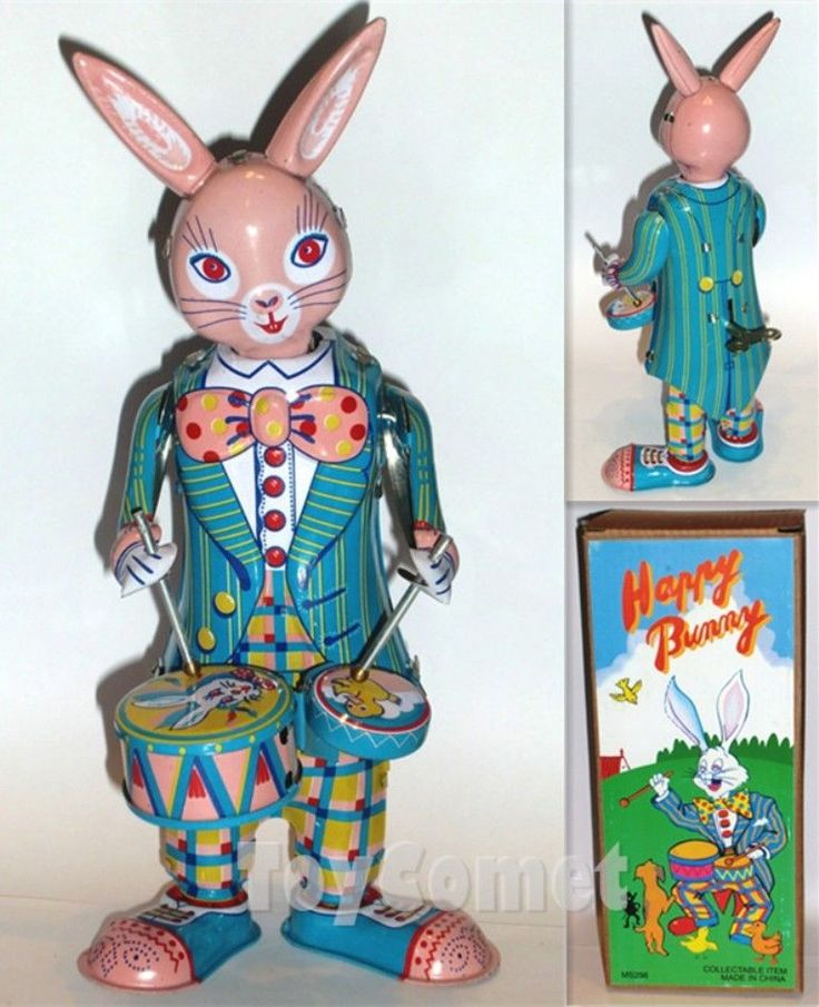 vintage peter the drumming rabbit