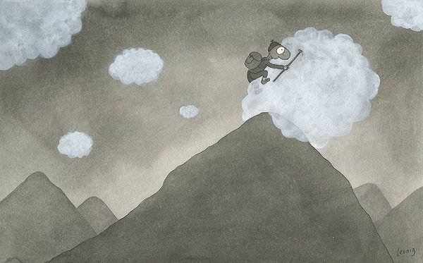 Michael Leunig cartoon via SMH.