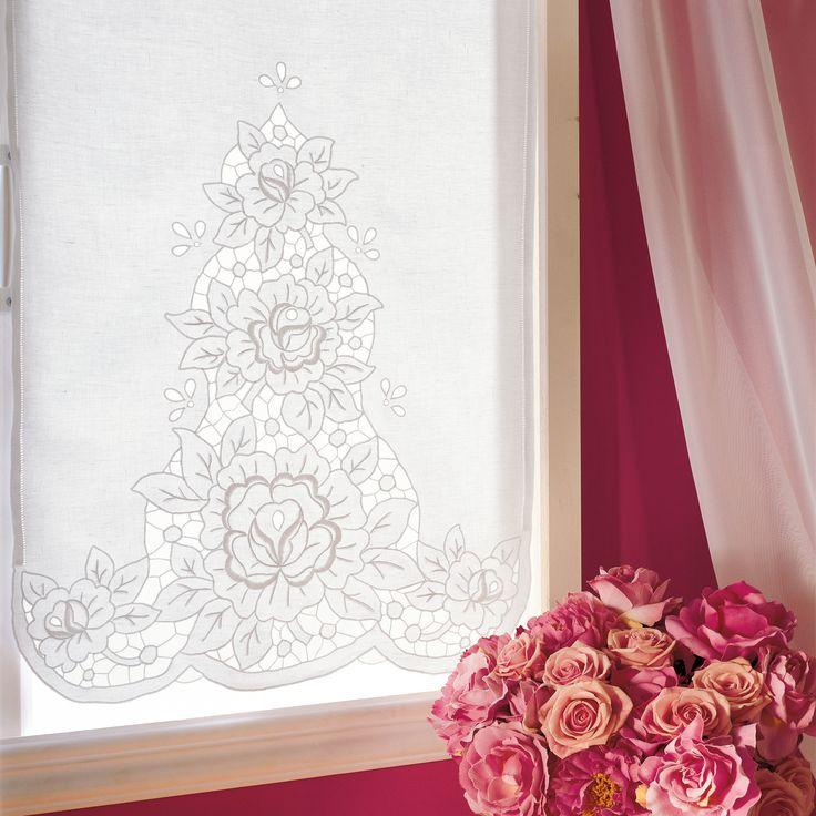 Oltre 25 fantastiche idee su tende per finestra su - Tende all uncinetto per finestre ...
