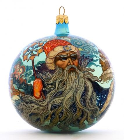 15 best images about hand painted glass ornaments on for Glass christmas balls crafts