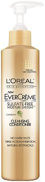 L'Oréal EverCreme Cleansing Conditioner Ulta.com - Cosmetics, Fragrance, Salon and Beauty Gifts