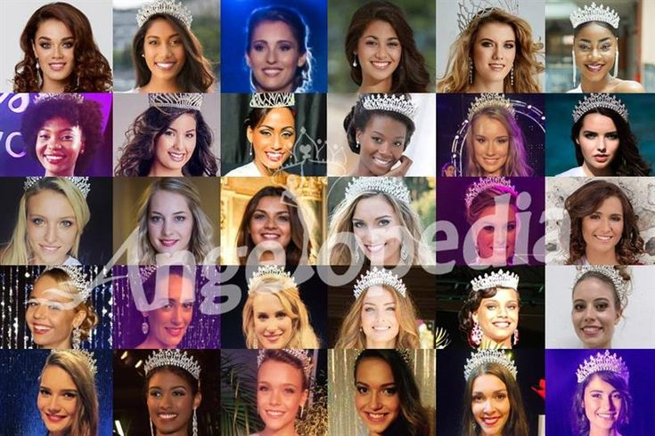 Miss France 2017 Meet the Contestants