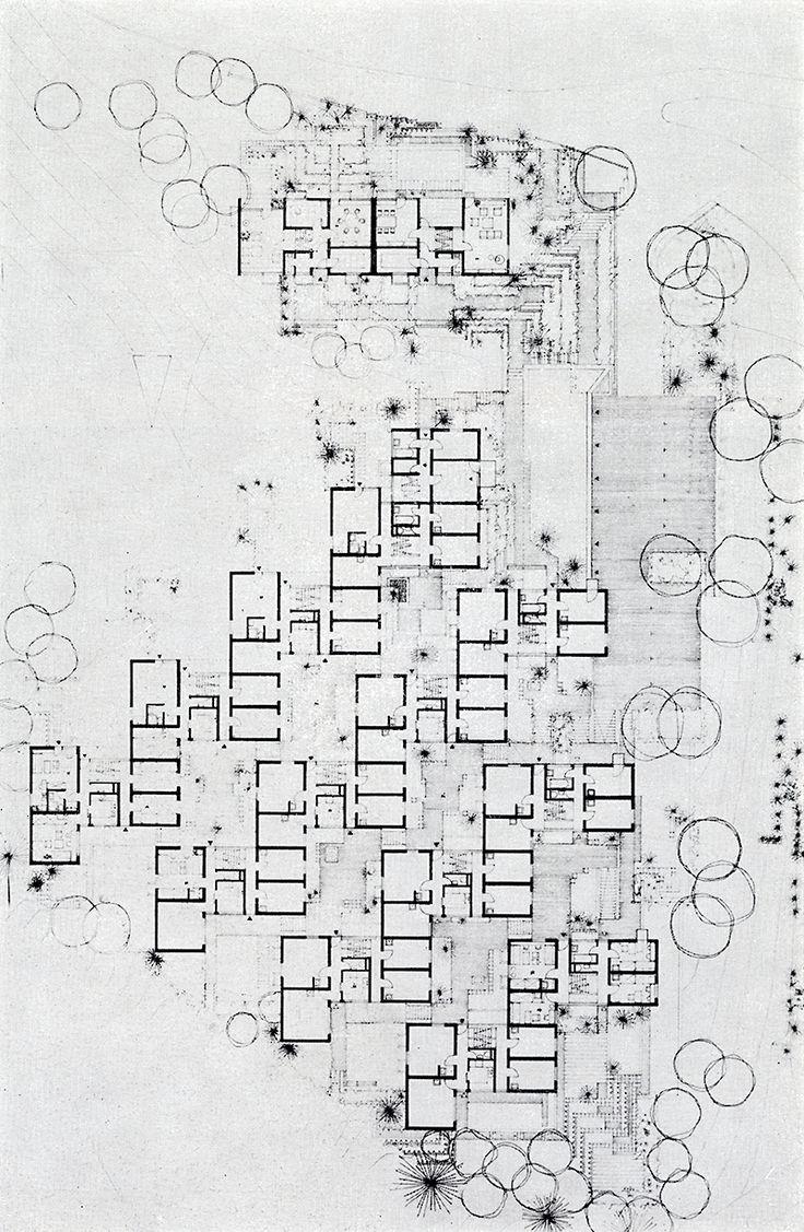Hans Kammerer, Walter Belz, Hans Luz. Casabella 323 1968: 37