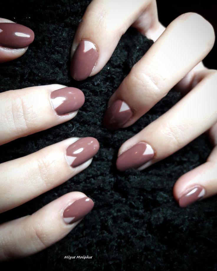 Manicure~nailart~handmadenails~oval nails