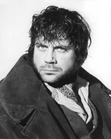 Oliver Reed as Bill Sykes in the film Oliver!