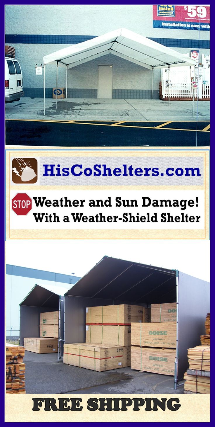 Cover It All Weather Shelters : Best images about commercial weather protection on