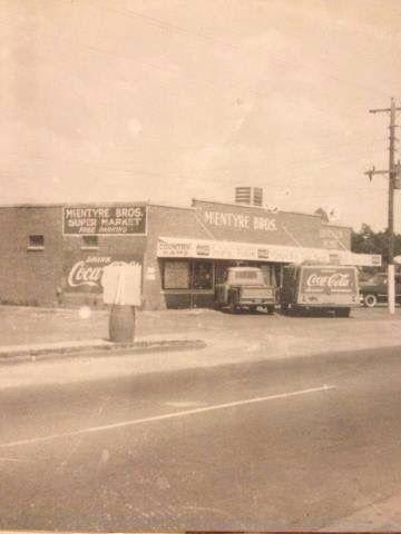 McEntyre's supermarket  Calhoun, Georgia
