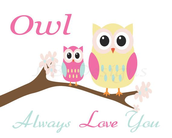 """Owl Always Love You"" Pink Owl Nursery"
