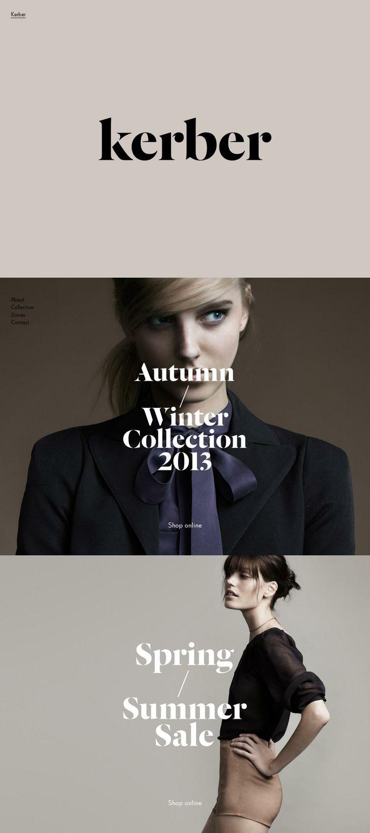 Kerber Website | Design: UI/UX. Apps. Websites | Marielle Kerber |