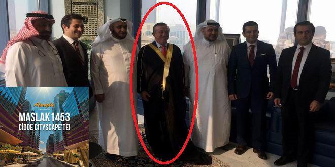 Ali Ağaoğlu, Cidde Cityscape Fuarı için gittiği Suudi Arabistan'dan ilginç bir hediyeyle döndü... Ağ...
