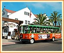 Old Town Trolley Sighteeing Tour--San Diego