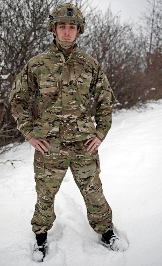 New m/11 multicam uniform (Danish Army)