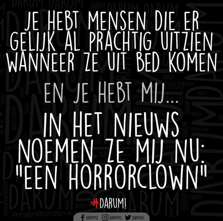 Soort van Horrorclown ☹