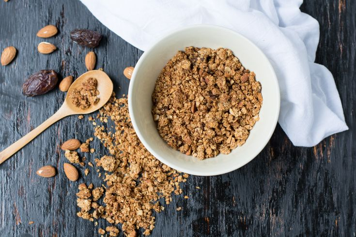Homemade Salted Caramel Coconut Granola
