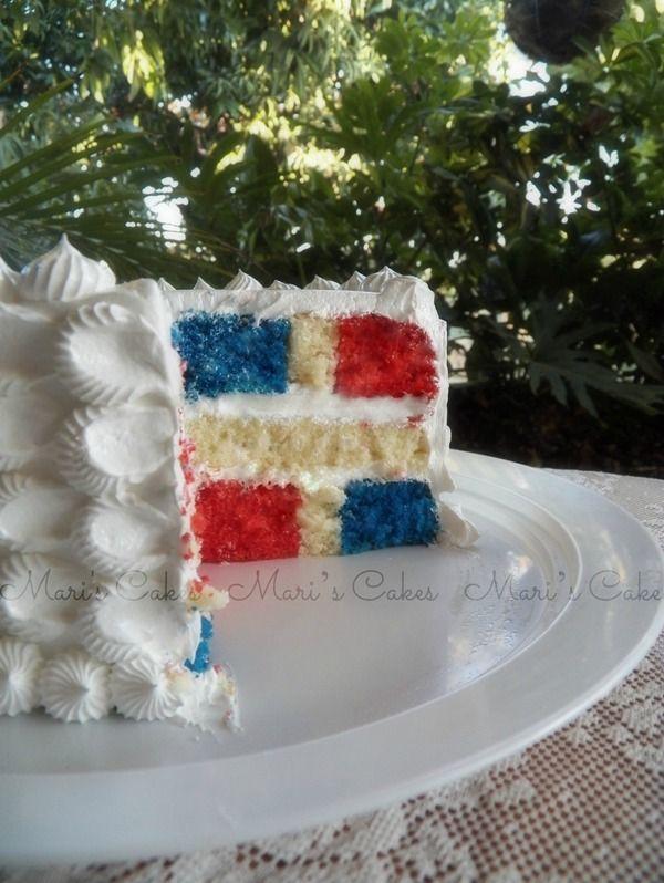 Maris Cakes: Bizcocho Bandera Dominicana. Dominican food!