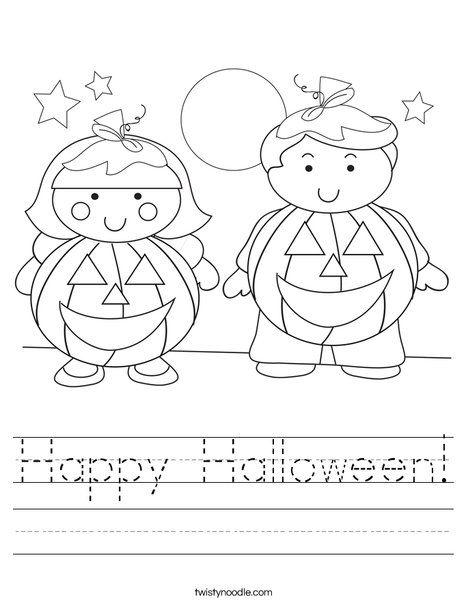 46 best Halloween images on Pinterest | Halloween worksheets ...