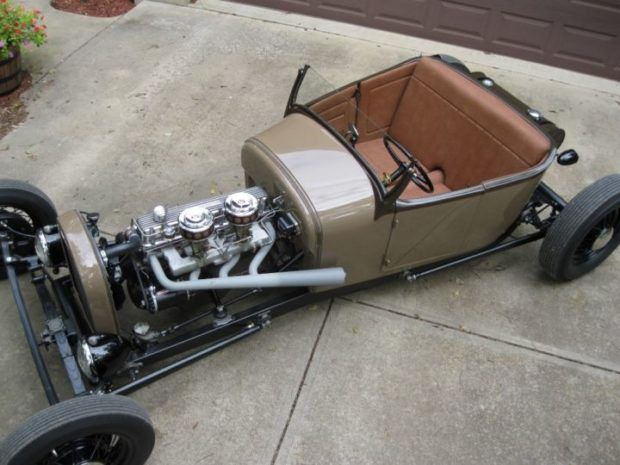 Lakes Modified Style 1927 Ford Model T Roadster W Stovebolt Six