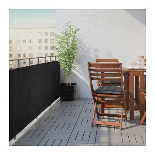 Patio Privacy hack IKEA applaro Ikea patio, Ikea outdoor