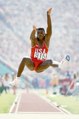 Carl Lewis dominated track and field for almost 20 years. A nine-time gold medalist, Lewis won gold medals in four different Olympic Games. His four gold medals in the 1984 Olympics tied Jesse Owens for the top gold medal haul in Track and Field
