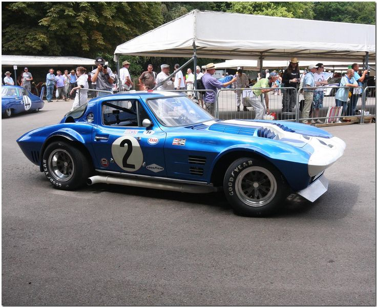 1963 Chevrolet Corvette Grand Sport. Goodwood Festival Of