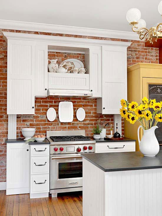dream country kitchen 59 best home exposed brick images on 3465
