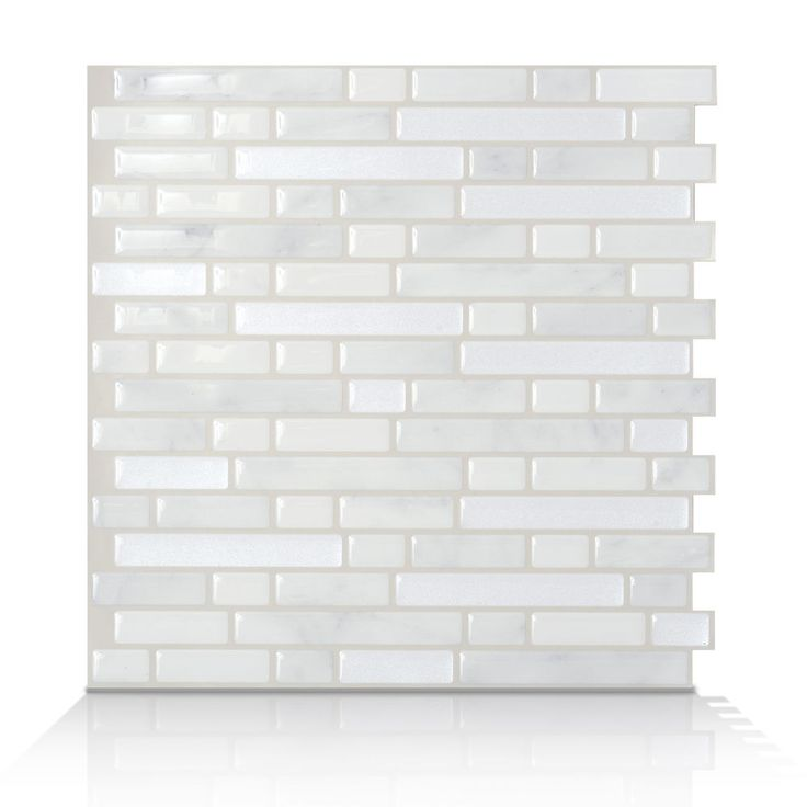 smart tiles sm1044 6 bellagio marmo self adhesive backsplash tiles 6 tiles - Stein Backsplash Ideen Fr Die Kche