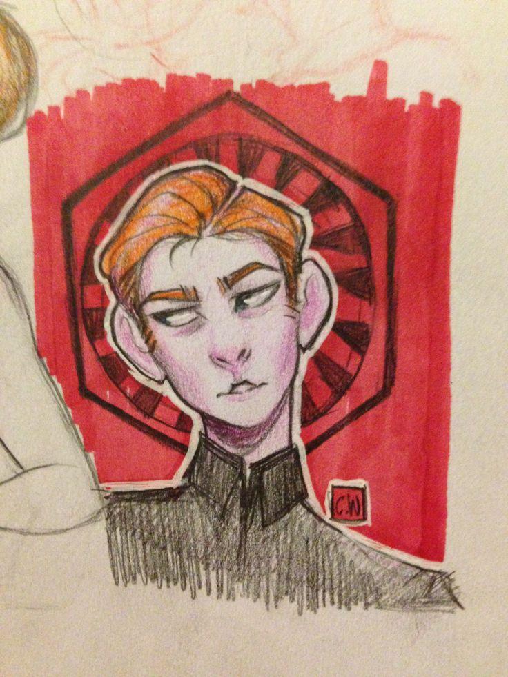General Hux sketch