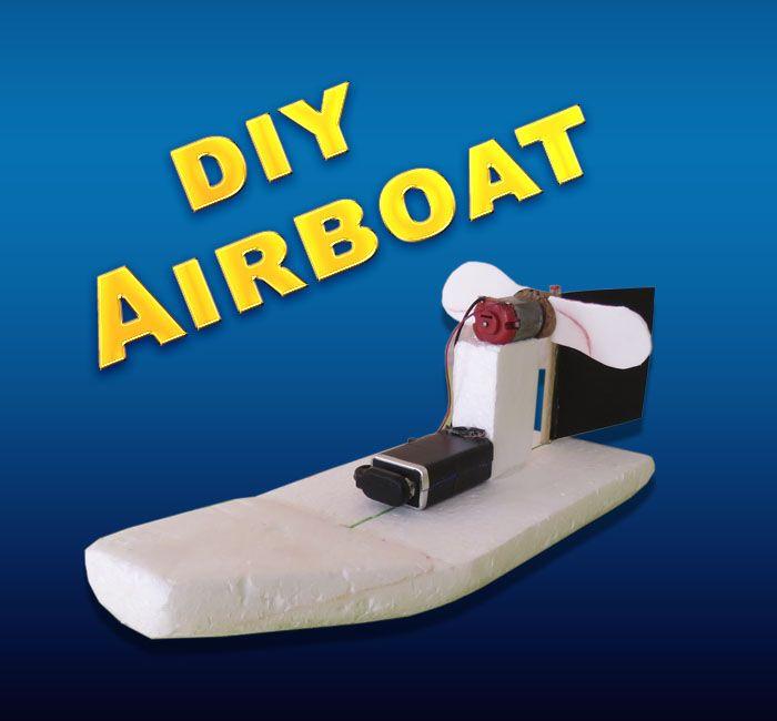 Airboat Proyectos Caseros Pinterest