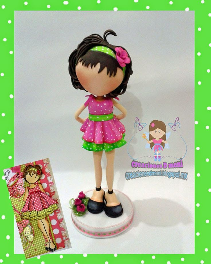 creaciones D Moni: fofucha prima Doll original y mis verciones :D fom...