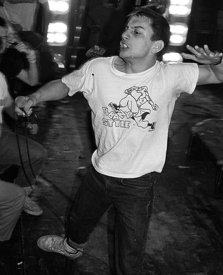 Ray Cappo of Youth Of Today, 1986