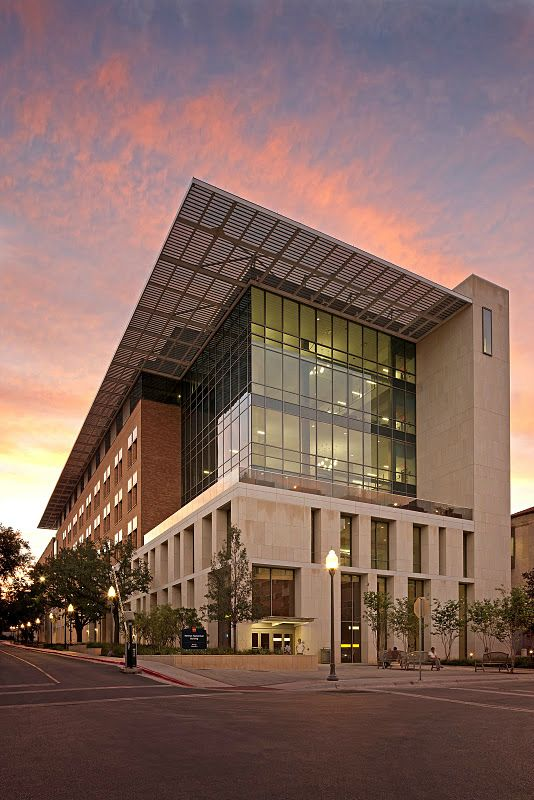 Norman Hackerman Building at the University of Texas at Austin by CO Architects - Photo: Tom Bonner
