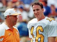 Peyton Manning and Coach Fulmer