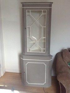 Shabby Chic Corner Cabinet/Unit | eBay