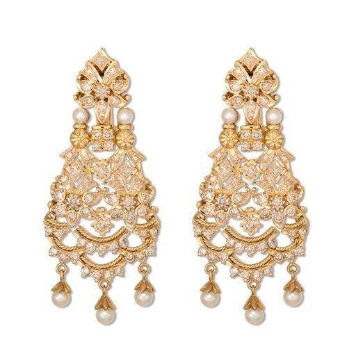 Pearl Bridal Jewelry http://maharaniweddings.com/gallery/photo/26818