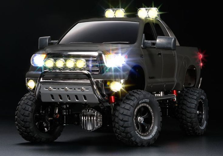 toyota truck | RC Trucks - Toyota Tundra High-Lift Pickup by Tamiya