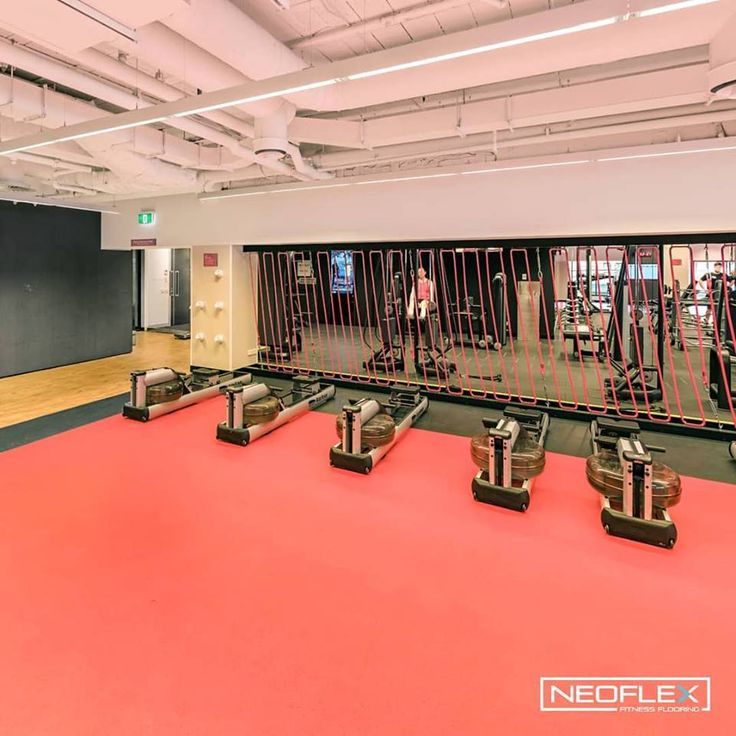 Neoflex 800 Series Fitness Flooring Spices Up The Cardio