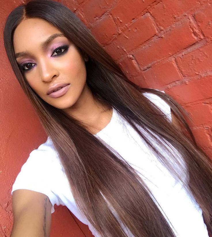 Ebony Brown Hair Color