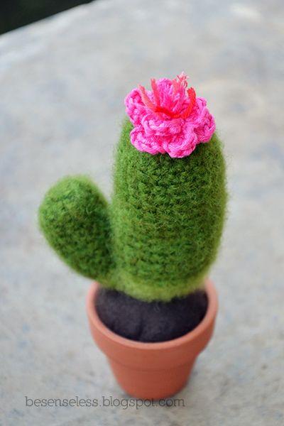 Airali handmade. Where is the Wonderland?: Amigurumi cactus #6